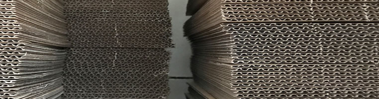 Laser cutting Corrugated card